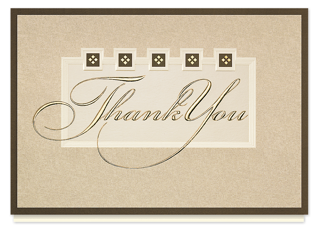 K'Mich Weddings - wedding planning - thank you card - The Gallery