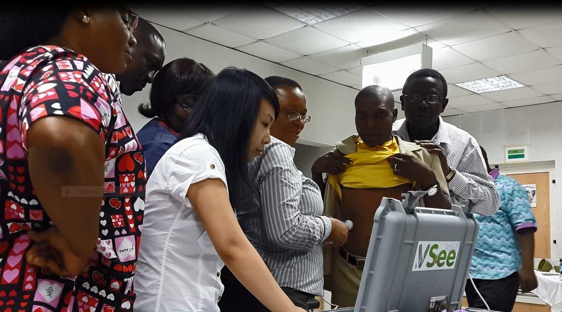 Nigerian baby telemedicine