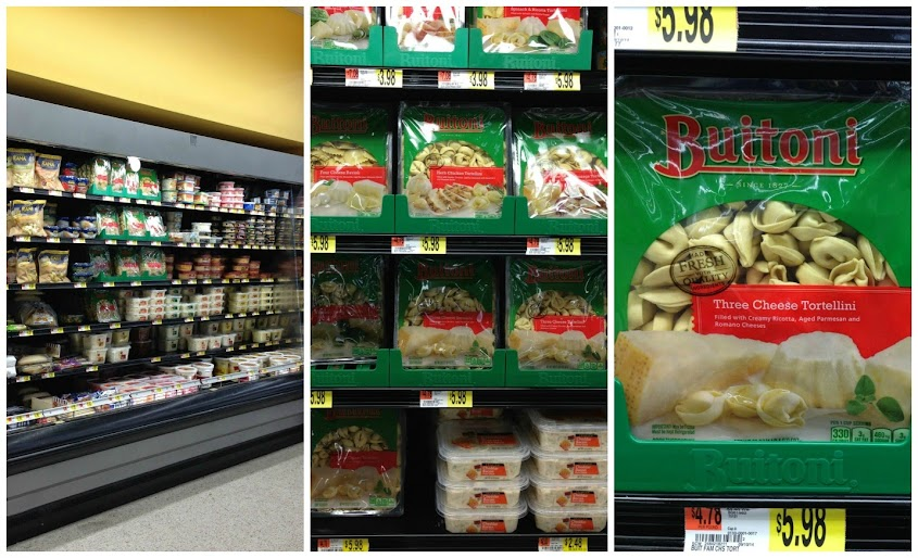 BUITONI® Refrigerated Pastas & Sauces available in the refrigerated deli cases at Walmart