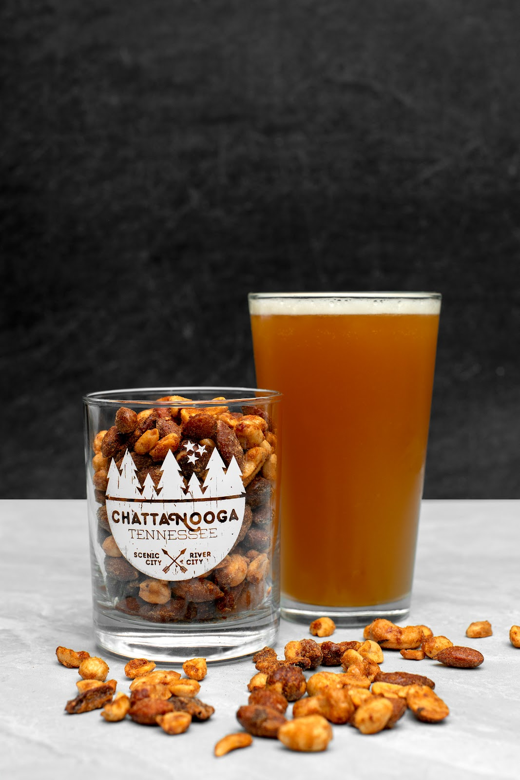 beer nuts by Noke's Granola