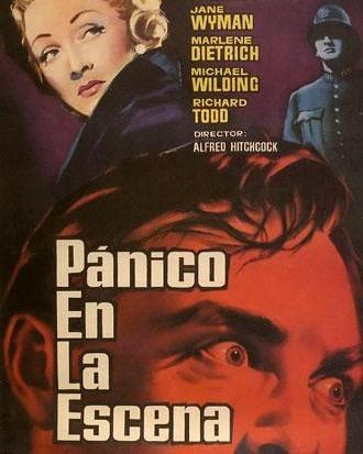 Pánico en la escena (1950, Alfred Hitchcock)