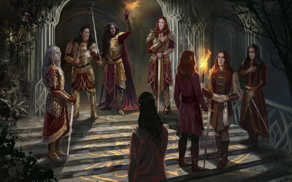 The Oath of Feanor by BellaBergolts on DeviantArt