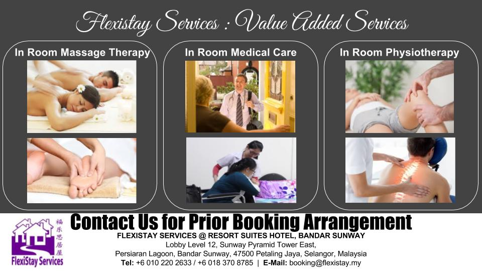 Flexistay Services - Value Added Services