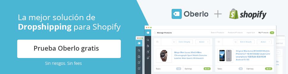 Shopify App Oberlo