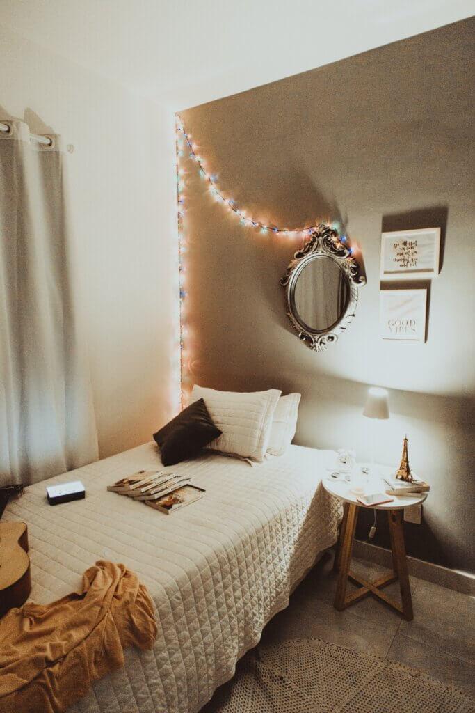 Coffee bedroom colour scheme
