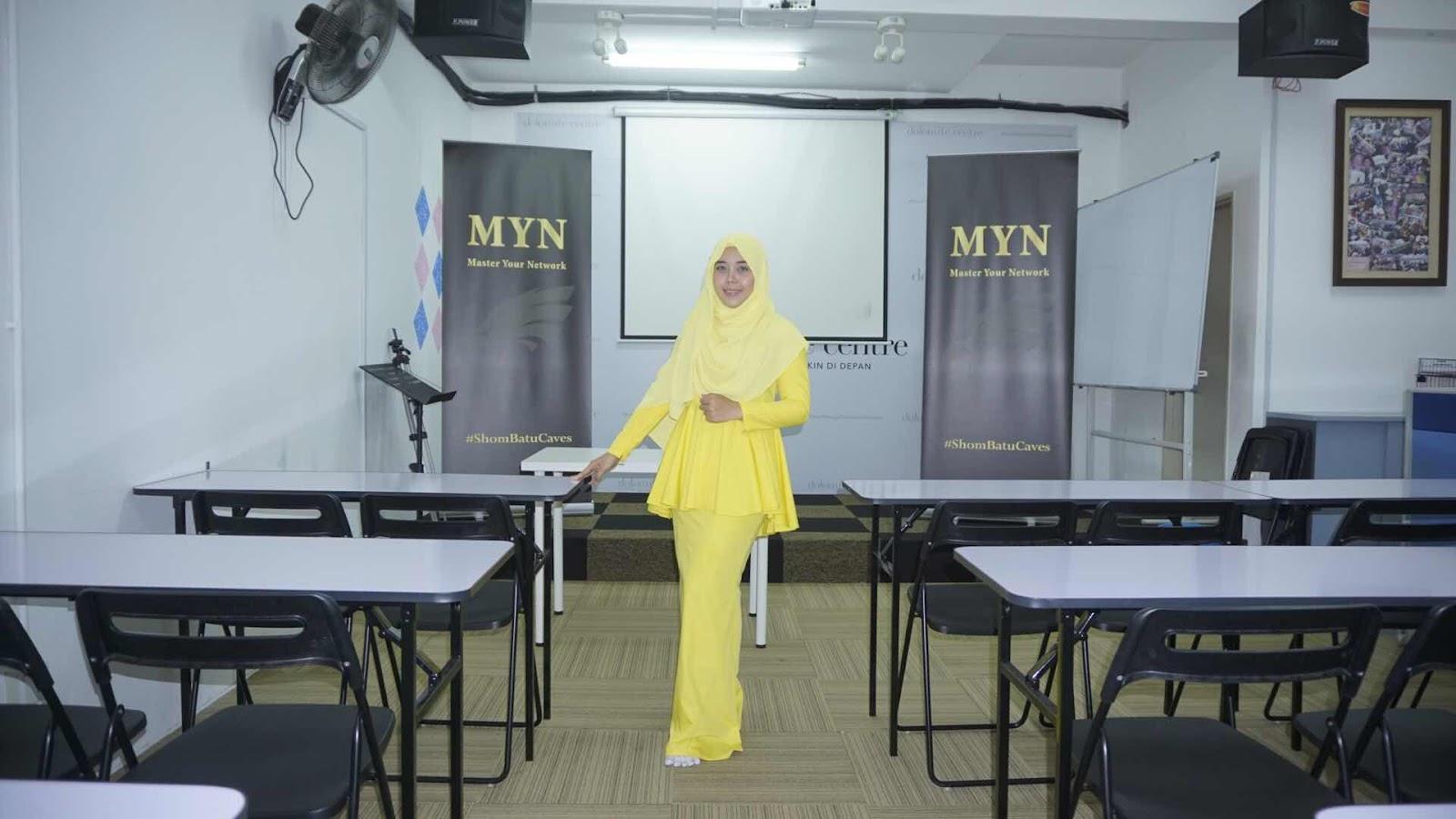 majlis ilmu MYN Premium Beautiful Therapant Agent Stokis HQ harga murah Herba Maharani