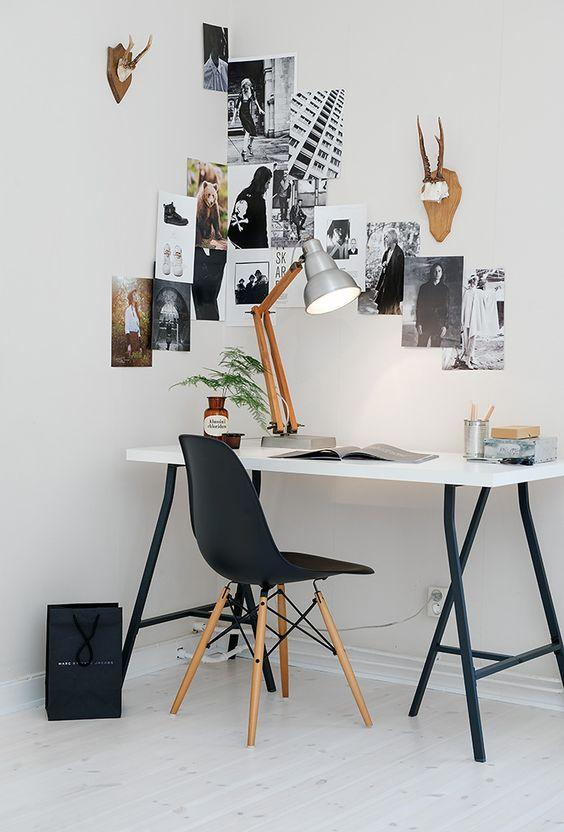 Three inspiring ideas for your home office: