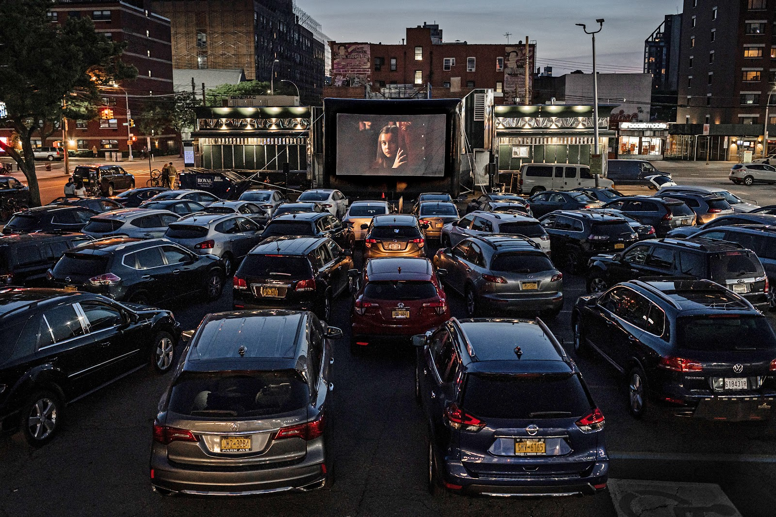 The coronavirus emptied movie theaters. But it's resurrecting the drive-in.