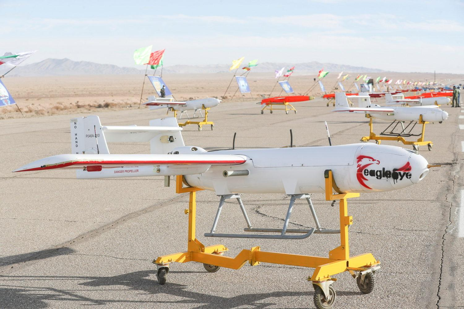 Iran tests drones in military exercise   The Jim Bakker Show