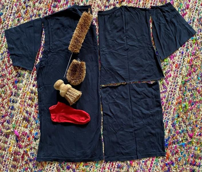 A picture containing cloth, blanket, colorful, clothing  Description automatically generated