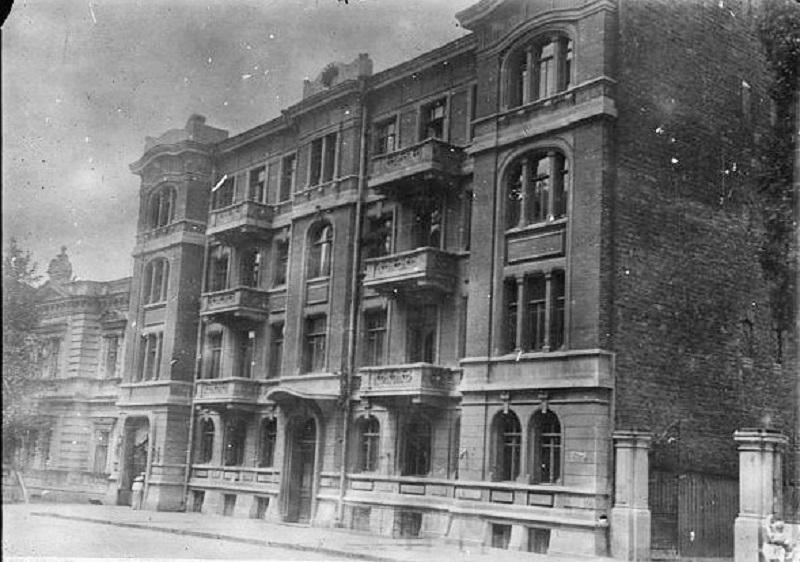Комендатура губчека на Сумській у 1919-му. Фото з бібліотеки Конгресу США