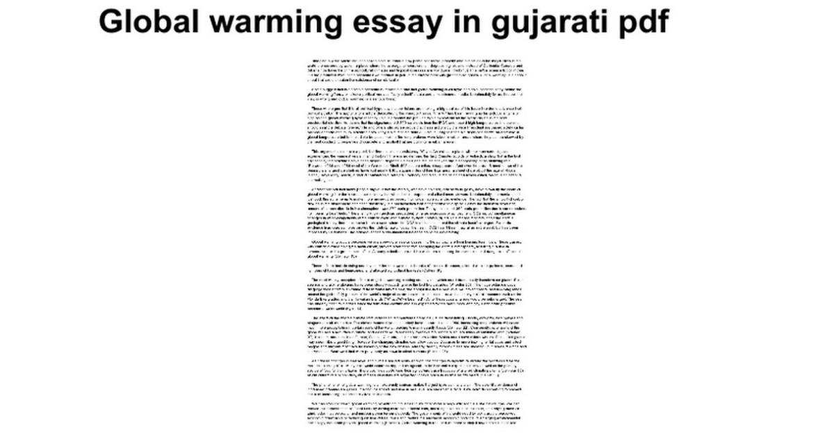 essays on global warming effects The effects are very obvious and, therefore, this brings out the question  is global climate change man made (argumentative essay sample)  global warming has .