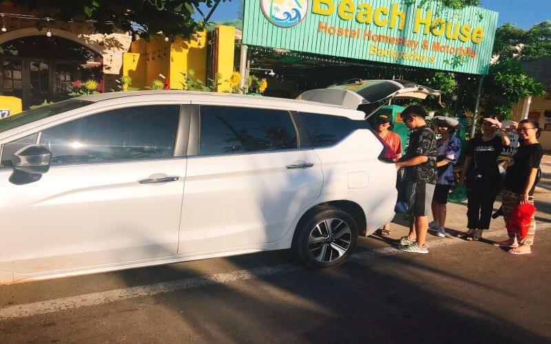 Cho thuê xe 7 chỗ tại Quảng Bình QBTravel