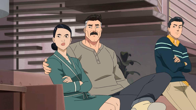 Invincible Grayson Family