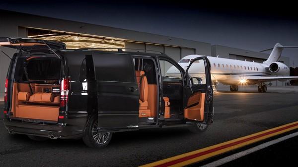 a Limousin Luxury Van