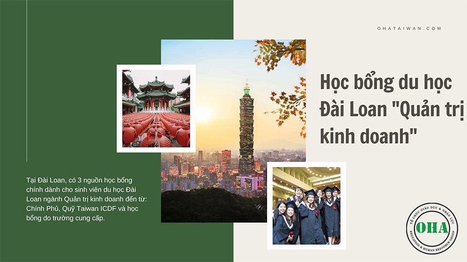 Học bổng du học Đài Loan ngành Quản trị kinh doanh