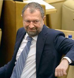 Депутат Государственной думы РФ Владислав Резник