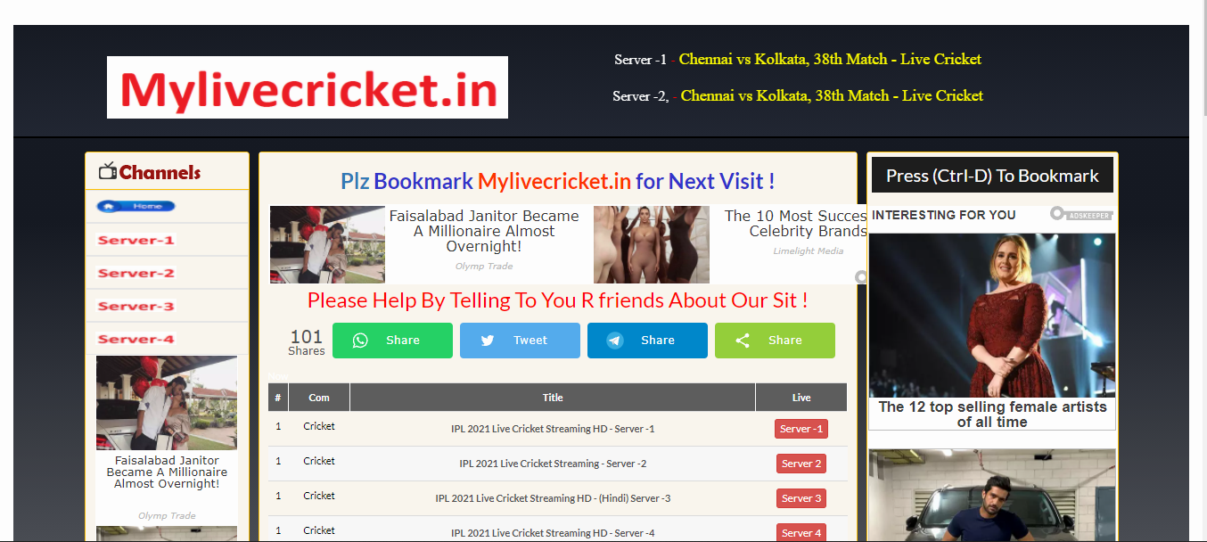 mylivecricket.in
