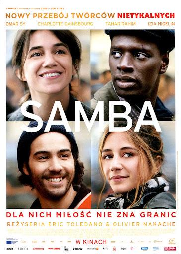 Przód ulotki filmu 'Samba'