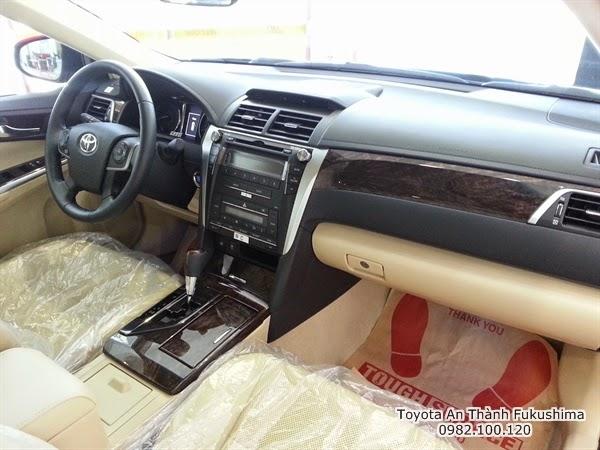 Khuyến Mãi Giá Xe Toyota Camry 2.5G 2015 7