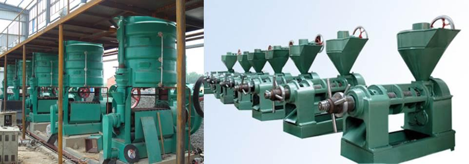 Palm oil processing machinery