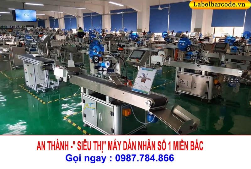 xưởng máy dán nhãn tự động tại an thành