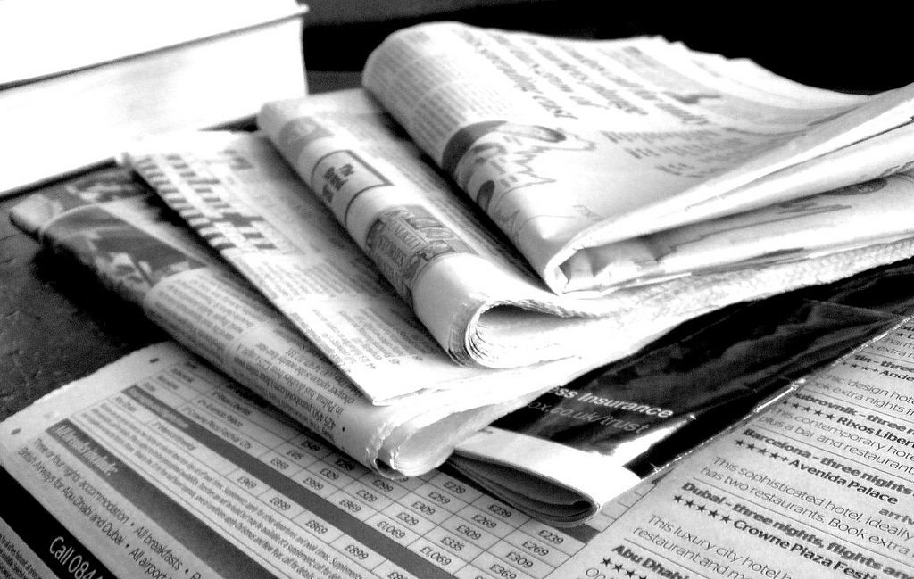 ... Newspapers B&W (3) | by NS ...