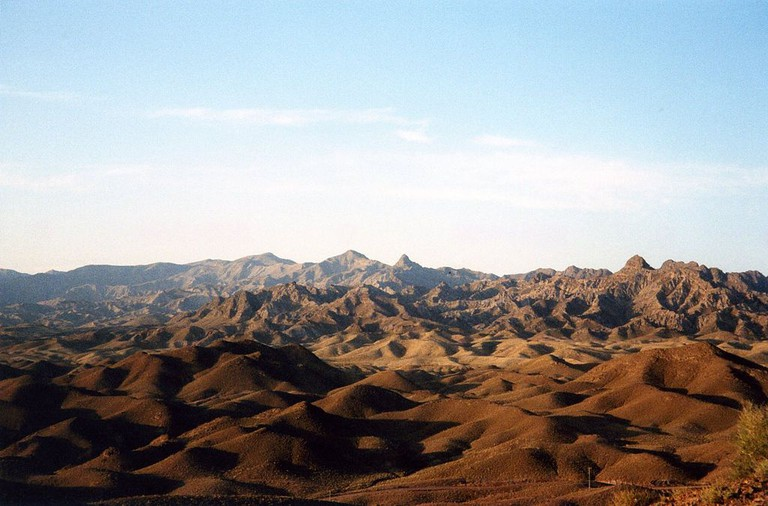 The Dasht-e Kavir Desert