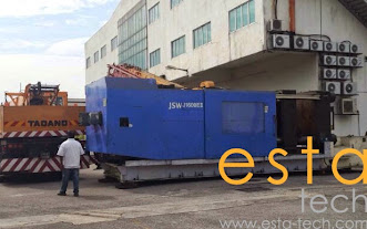 JSW J1600EI-I7 (1996) Plastic Injection Moulding Machine