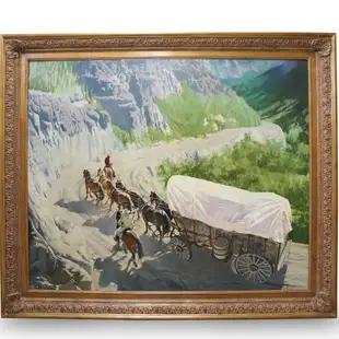 Colorado Teamster by Oleg Stavrowsky