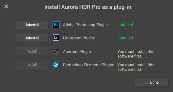 Aurora HDR  tutorials frequently asked questions tools and features
