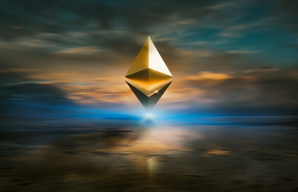 Ethereum blockchain logo