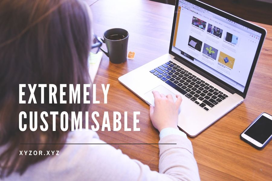 WordPress is Extremely Customizable
