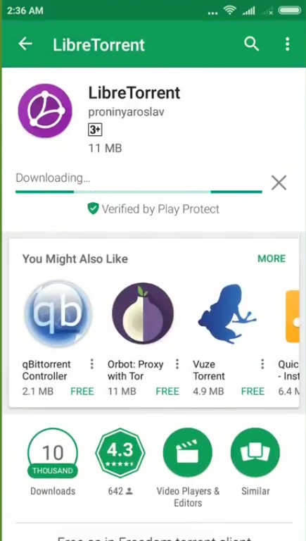 Add tracker utorrent android file