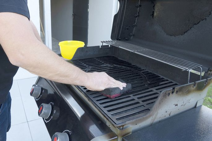 Clean your grill before your next barbecue.