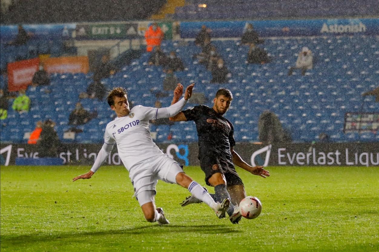 Manchester City đã bị Leeds cầm hòa ở trận lượt đi