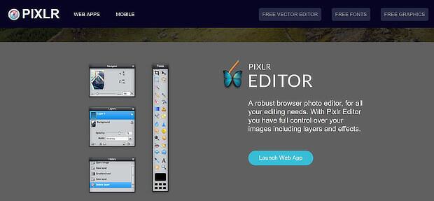 8 Pixlr Web Apps