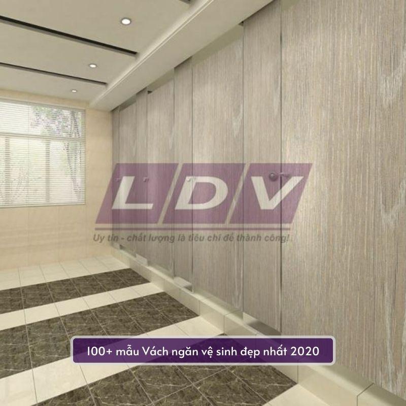 các mẫu vách ngăn vệ sinh LDV