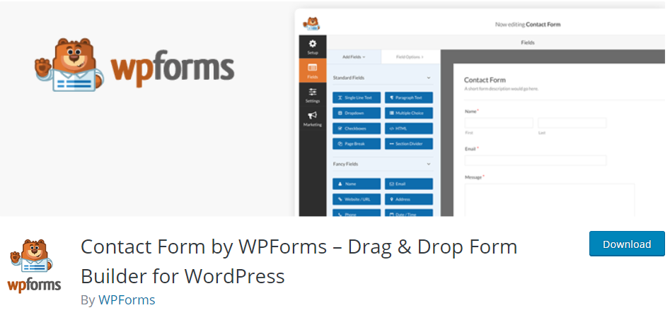 WPForms - WordPress Plugin