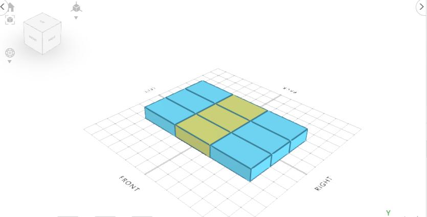 3D designing furniture: 3D Model of table