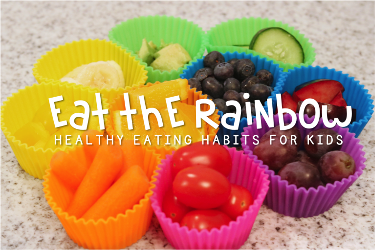 Rainbow Art Ideas - Eat The Rainbow
