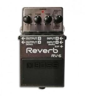 Foto do pedal Boss RV-6 Reverb