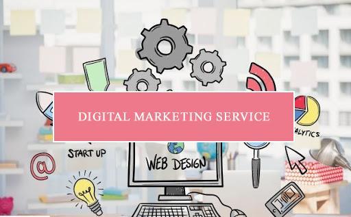 Digital marketing service giúp đẩy mạnh thứ hạng trang web