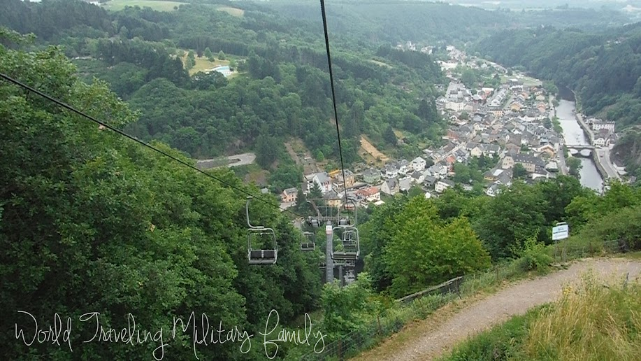 Chair Lift - Vianden, Luxembourg