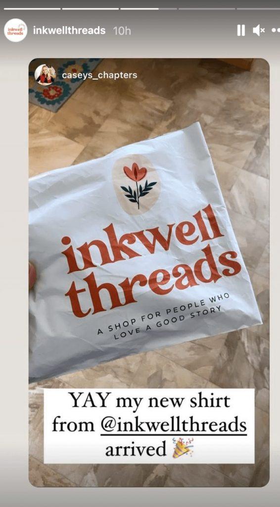 Pochette d'expédition de Inkwell threads