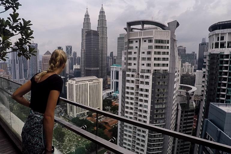 Výhľad na hlavné mesto