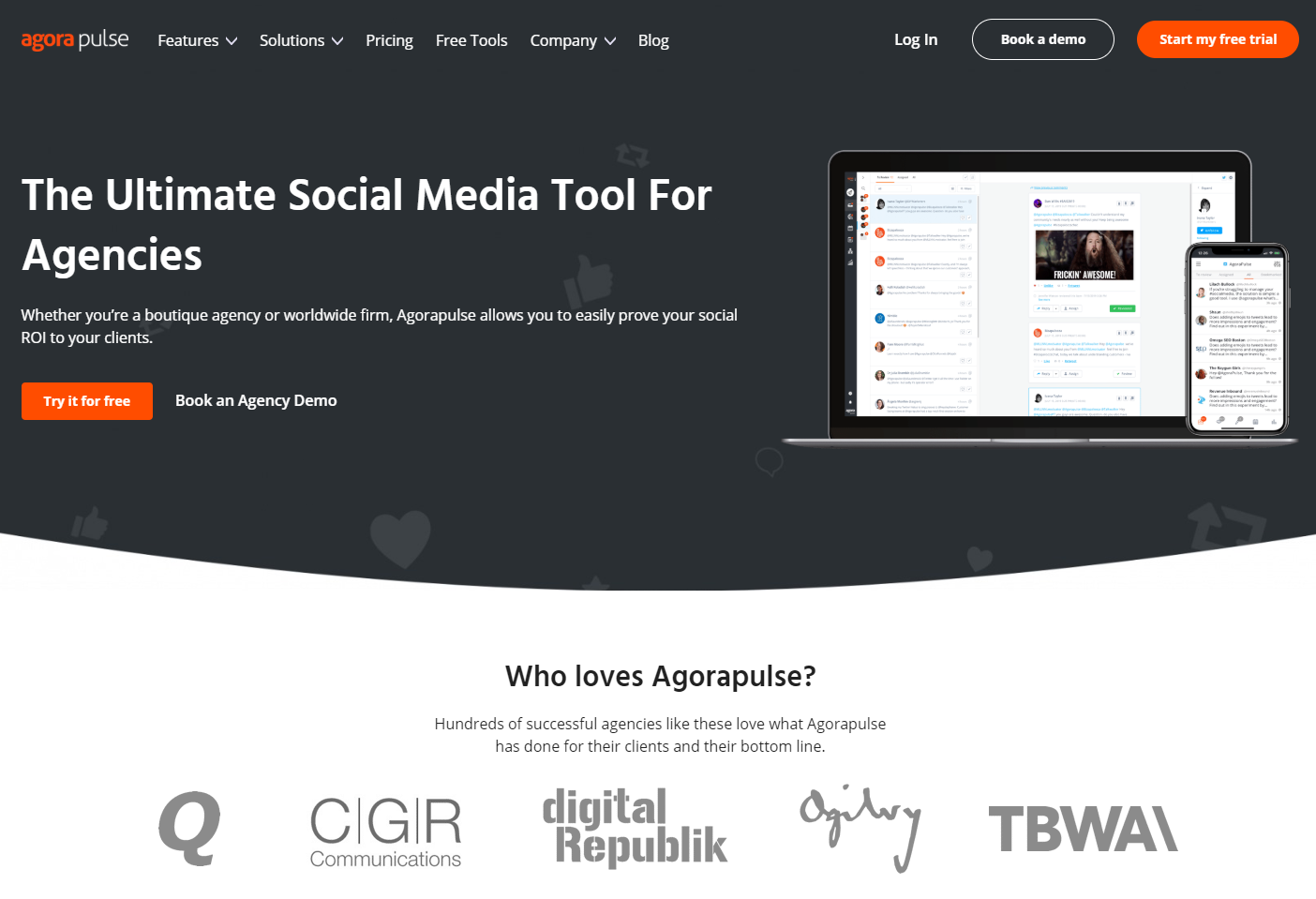 social media management for agencies