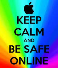 Image result for keep calm and get stay safe from online