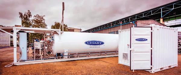LNG Holandia. Przykładowa stacja tankowania LNG od Chart Ferox