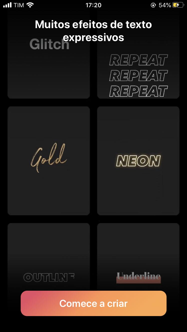 Mojo - Editor de Stories do Instagram iOS - Imagem 3 do software